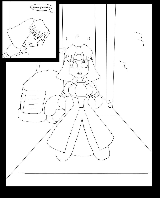 V vs the Kinky Kunoichi Klan Part 5 Page 1