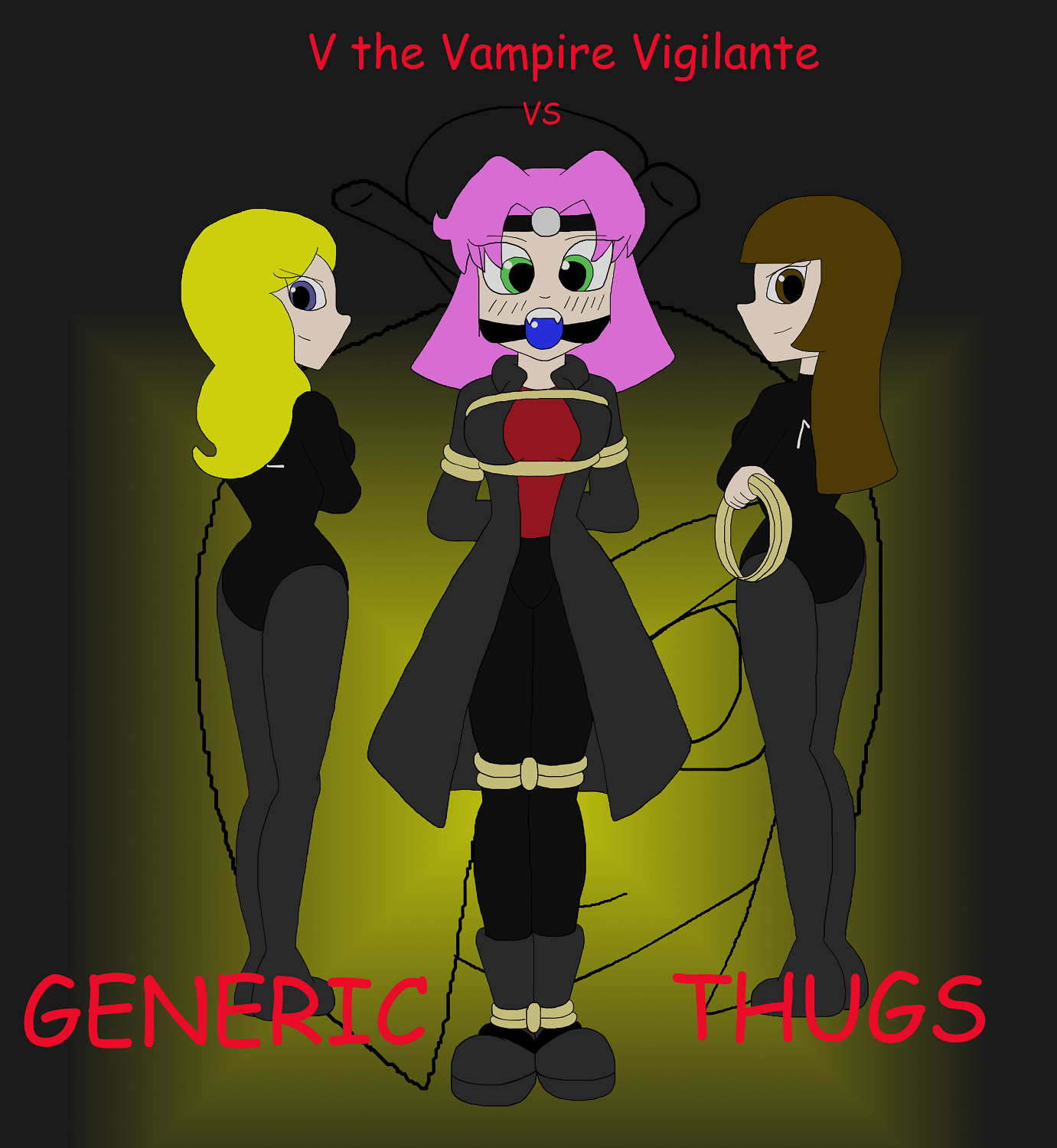 V the Vampire Vigilante vs Generic Thugs