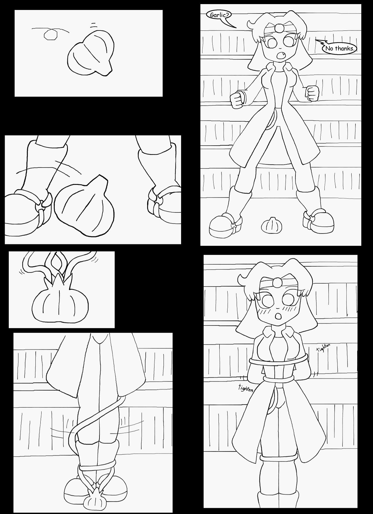 V vs the Vampire Hunter Part 10 Page 2